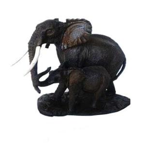 Decorative elephant sculpture
