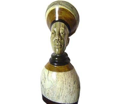 African handmade male sculptures