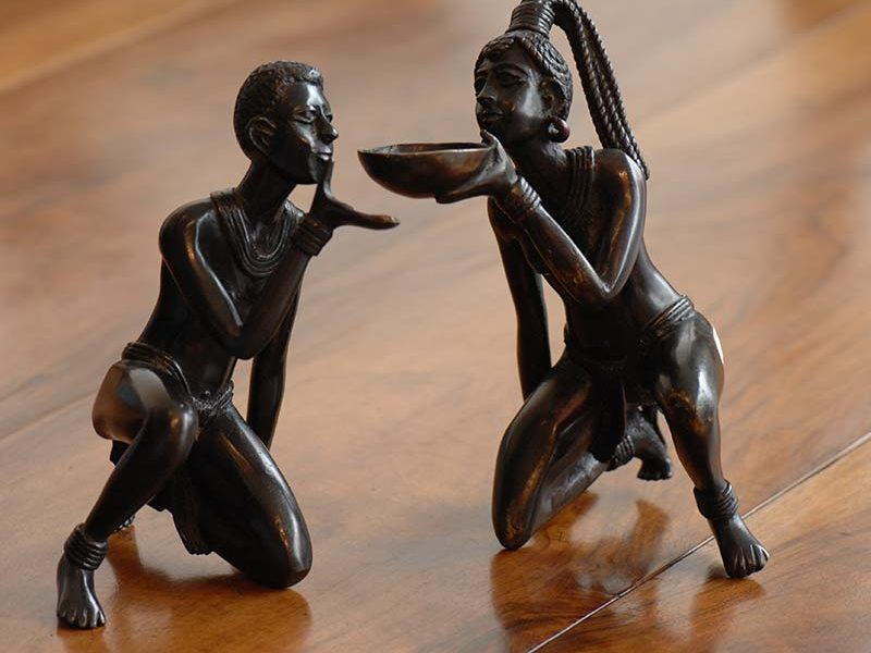 African handcraft sculptures