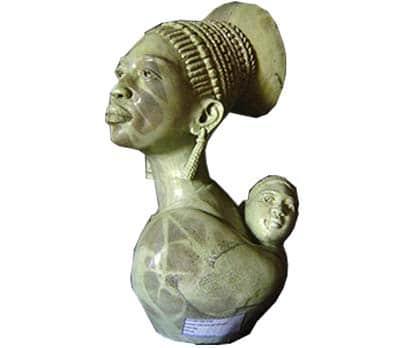 African female sculptures