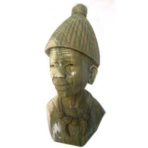 African handmade male sculptures